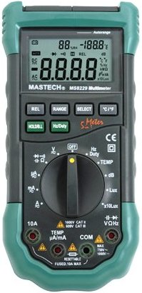 mastech ms8229 multimeter