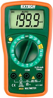 extech mn35 multimeter