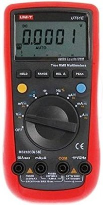 uni-t-61e multimeter