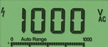 multimeter display