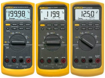 Fluke 80 series comparison test meter pro for Savio 724 ex manuale