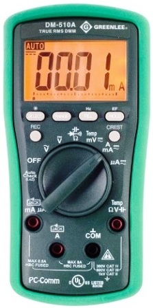Greenlee DM-510A Meter
