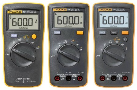 Fluke 100 Series Comparison