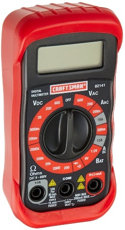 Craftsman 34-82141 Multimeter