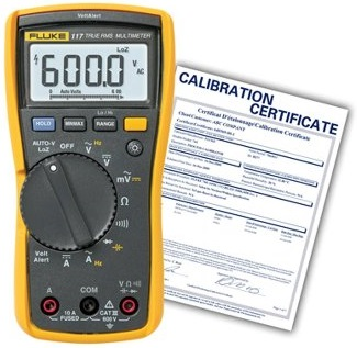 Calibrate Fluke Multimeter