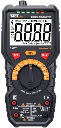 Tacklife DM07 Meter