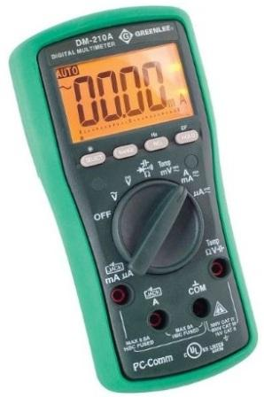 Greenlee DM-210A Multimeter